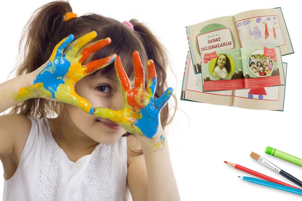 çocuk sanat kitabı