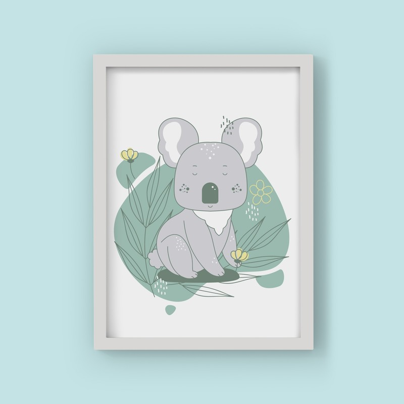 3 Çerçeveli Tablo Seti - Koala