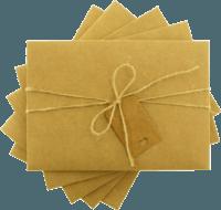 13x18 Kartpostal - 13x18 Etiketli & İpli Kraft