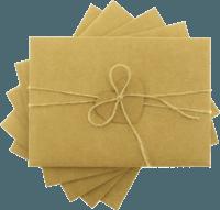 13x18 Kartpostal - 13x18 Kalpli & İpli Kraft