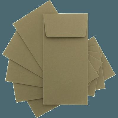 Koyu Gri Davetiye Zarfları