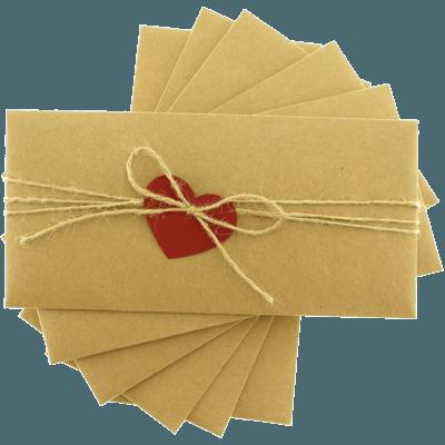 Kraft Kalpli Davetiye Zarfı
